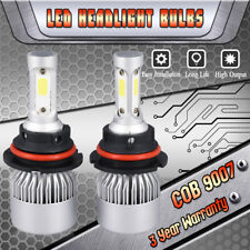 9007 HB5 LED Headlight High/Low Beam 1500W 225000LM 6000K White Bulbs Lamp Light