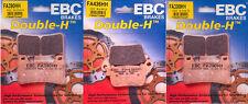 EBC HH Front & Rear Brake Pads Set - Honda CBR600RR - 07-15, CBR100RR - 06-15