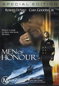 MEN OF HONOUR starring Robert DeNiro (DVD, 2002) - LIKE NEW!!!
