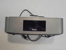 Philips DC291/37 30 Pin Docking Station FM Radio Clock Dual Alarms for iPod