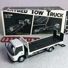 1/64 YES X Peako Isuzu Flatbed Tow Truck White Initial D