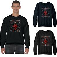 Deadpool Christmas Jumper, Superhero Marvel Comics Santa Hat Xmas Festive Gift