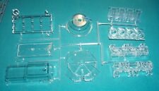 Visible V-8 Engine Revell 1/4 Clear Parts Cylinders Oil Pan Main Bearings Etc.