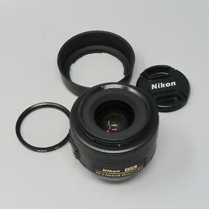 Nikon NIKKOR AF-S 35mm DX f/1.8 Prime Lens - Plus Hood & Filter