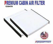 x2 PREMIUM CABIN AIR FILTER for Camry Avalon Sienna Solara RX350 ES330 CF10132