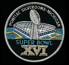 SUPER BOWL 16  49ERS vs BENGALS Willabee & Ward OFFICIAL NFL SB XVI ~ PATCH ONLY