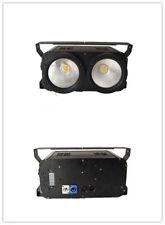 2pc 2 Eyes LED 200W COB warm white 2in1 LED Audience Matrix Blinder Stage Light