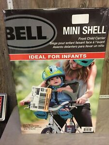 Bell Mini Shell Front Carrier in Gray, Gray Mini Shell Front Carrier