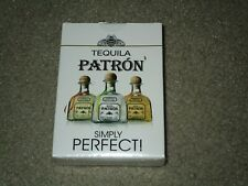 Tequila Patron Playing Cards Brand New Sealed Deck