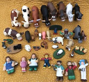 "Deagostini ""My Animal Farm""  Selection Of Animals And Farmers"