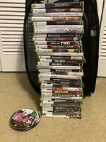 Lot Of 51 Mixed Xbox 360 Games Fun Titles Bundle FAST SHIPPING