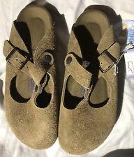 Birkenstock Bern Clog Jasper Suede 37 Narrow Soft Footbed