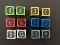 Shadows of Brimstone Peril Dice - Pair of 2 - Various Colors