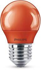 Philips LED Colored Red E27 P45 3.1w Tropfenlampe Lichtfarbe rot