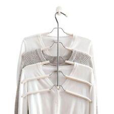 Clothing Hangers 5 Layers Metal Organizer Multifunctional Wardrobe Shirt Storage