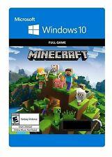 Minecraft: Windows 10 Edition CD-Key Full Game INSTANT