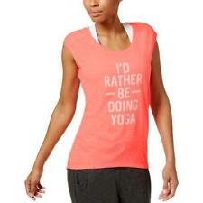 Ellen Tracy Womens Yoga Fitness Running Tank Top Athletic BHFO 6147