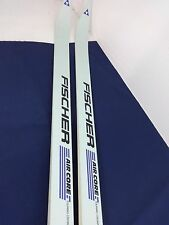 FISCHER AIR CORE TOURING XCOUNTRY SKIS 205 CM SALOMON BINDINGS