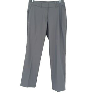 Nike Golf Dri-Fit Gray Slim Leg Mid Rise Casual Pants Size 4