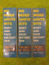 No More White Bits Instant Tan Body & Face   3 X 125ml