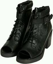 Topshop High (3-4.5 in.) Block Heel Lace Up Boots for Women