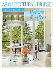 Architectural Digest February 2010 Before & After How the Pros Do It 021417DBE4