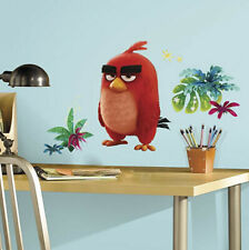 ANGRY BIRDS Big Red wall stickers 6 decals MURAL VIDEO game character