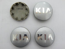 (4) FACTORY OEM KIA BUTTON CENTER CAPS HUBCAPS P/N 52960-3W200SL STK# P2