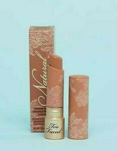 Too Faced Natural Nudes Intense Color Coconut Butter Lipstick Skinny Dippin' NIB