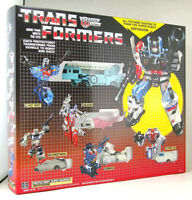 Transformers G1 Defensor reissue brand new with a box and styrofoam Gift