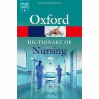 Brand new paperback book - A Dictionary of Nursing Oxford Quick Reference 2018