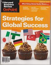 HARVARD BUSINESS REVIEW ONPOINT MAGAZINE SUMMER 2013.