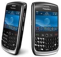 BlackBerry Curve 8900 Black Unlocked Smartphone Mobile Phone Good Condition