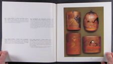 Antique Japanese Lacquer Netsuke Ojime Inro - Kelsh Collection - 2 Catalog Set
