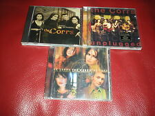 LOT DE 3 CD THE CORRS