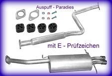 Abgasanlage Auspuff Endtopf Mazda MX-6  2.5i 24V Coupé Typ GE 163PS & 165PS +Kit