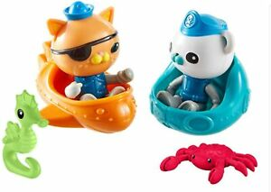Octonauts Explore & Rescue Figure Pack Playset - Kwazii, Barnacles & Creatures
