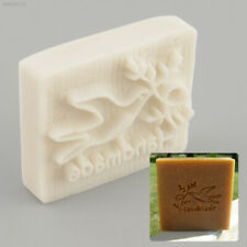 1E7D Pigeon Handmade Yellow Resin Soap Stamp Stamping Soap Mold Mould DIY Gift