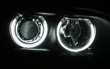 SCHEINWERFER SET mit CCFL NEON ANGEL EYES STANDLICHTRINGE BMW E39 5er SCHWARZ