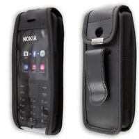 Smartphone Case for Nokia 215 Dual Sim Leather-Case with belt clip Protective Co