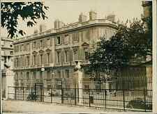 Paris, l'hôtel Rotschild Vintage silver print Tirage argentique