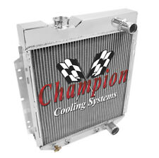 "2 Row 1"" SZ Champion Radiator for 1964 - 1966 Ford Mustang V8 Engine"