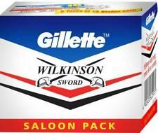 GILLETTE - BLADES - WILKINSON SWORD - Double Edge Safety Razor Blades - S/Pack