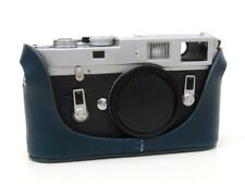 Leather Half Case for Leica M6 M7 MP M2 M3  (with or w/o selftimer) - Blue