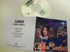 Slinger - Caribou Sundays - UK 4 Track  Acetate Promo 2015