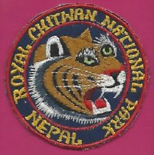 Royal Chitwan National Park nepal/Patch/patch * New * nuevo *