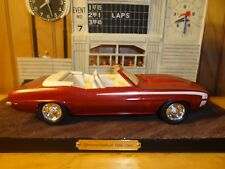 MPC or Revell '69 Chevy Camaro SS Convertible 396 4 Speed 1:25 Built Model