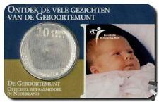Nederland 10 Euro 2004,geboortemunt van princes Amalia in zilver (schaars)