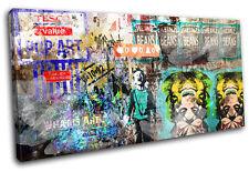 Deko-Bilder & -Drucke im Pop Art-Stil mit Graffiti-Motiv