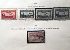 Lot 5 Timbres France Poste aérienne - 1930 - 1934 -